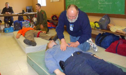 Training Scouting adults and youth in First Aid